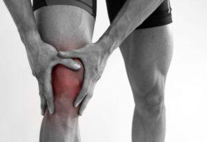когда сидишь болит колено