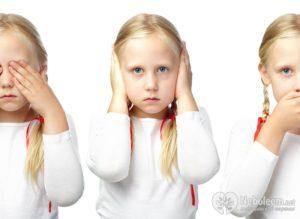 Симптомы болезни - сенсорные нарушения у ребенка