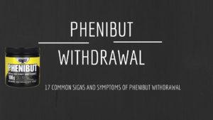 Фенибут синдром отмены