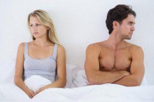 Не возбуждаю мужа