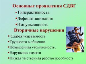 Основная информация об СДВГ