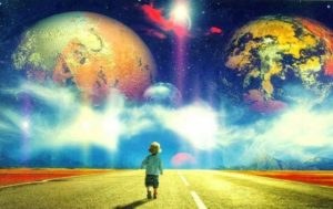 Мне кажется,что я и мир вокруг меня не существуют.