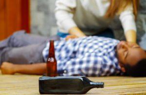 Либидо просыпается только в алкогольном опьянении.