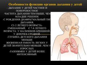 жесткое дыхание у грудничка