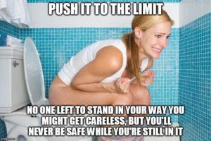 Не могу сходить в туалет после анального секса