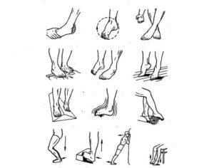 Лечебная гимнастика для стоп