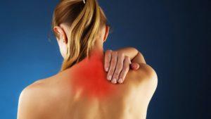 После аварии болит плечо и шея