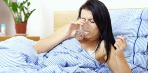 рвота во время простуды