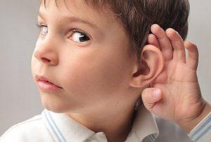 Пропадает слух у ребенка