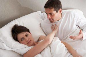 Стресс убил мужчину? Муж любит, но не хочет секса- год, говорит - стресс.