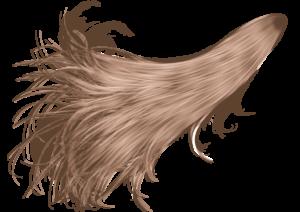 Прозрачные волосы