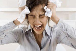 Сильное расстройство, стресс