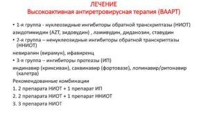 Высокоактивная антиретровирусная терапия (ВААРТ или ВАРТ)