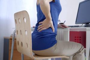Дискомфорт при сидении