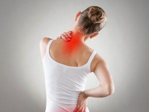 Симптомы болезни - боли в спине