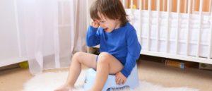 Ребенок тужиться при мочеиспускании