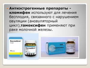 Лекарства для лечения бесплодия