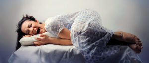 Агрессия во время сна