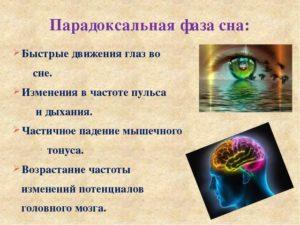 Нарушение фазы сна с быстрым движением глаз