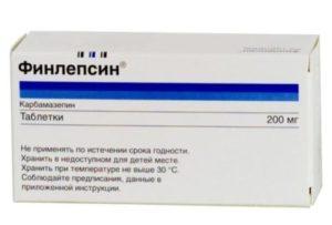 Передозировка Финлепсином