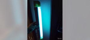 Туберкулез. Ультрафиолетовая лампа