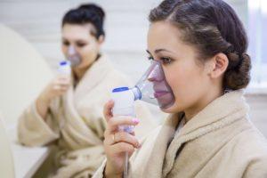 Лечение заболеваний органов дыхания, целебные ингаляции