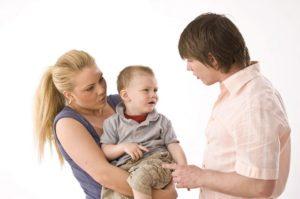 Сын ревнует маму к папе