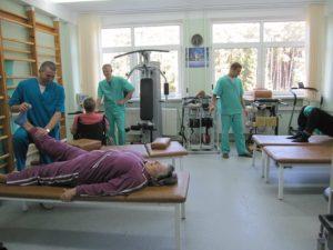 Восстановительное лечение в палатах ранней реабилитации