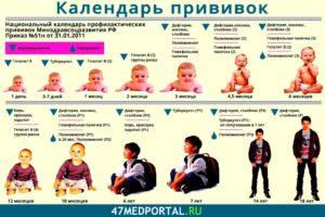 прививки ребенку в 1,5 года