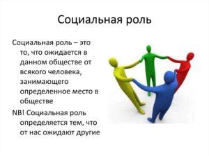 Выполнение социальных ролей