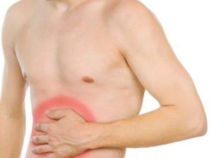 Симптомы болезни - боли около пупка