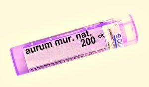 Aurum muriaticum natronatum