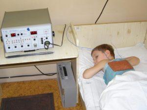 Особенности применения физиотерапии в  детском возрасте