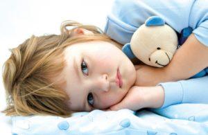 Симптомы болезни - нарушения сна у ребенка