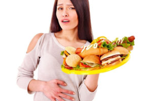 Нарушение пищеварения