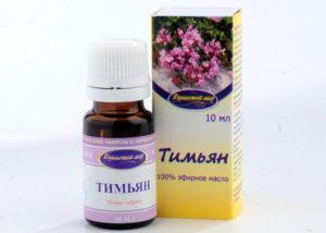 Эфирное масло тимьяна обыкновенного