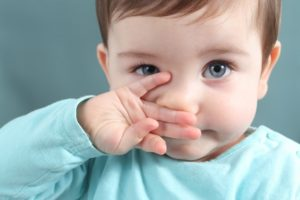 Ребенок не чувствует запахи