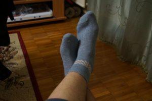 озноб ноги с ощущением одетого тугово носка