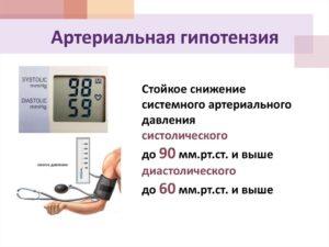 Что такое низкое артериальное давление (артериальная гипотония)