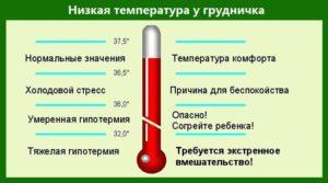 продолжительная температура у 6 месячного ребенка