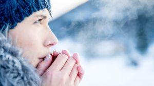 задыхаюсь на морозе.