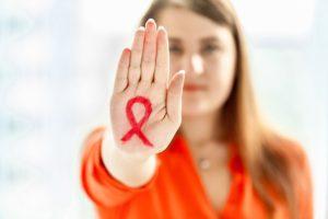 Женщина, живущая с ВИЧ