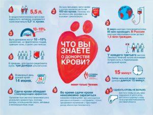 Чем полезно донорство крови?