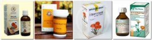 Настойка календулы для лечения горла и простудных заболеваний