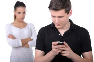 Безудержная и необоснованная ревность жены