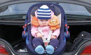 Путешествие с грудным ребенком на автомобиле