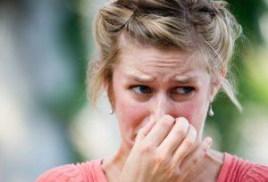 Реакция человека на запах