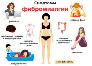 Симптомы фибромиалгии (продолжение...)