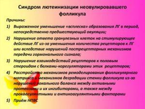 синдром пустых фолликулов СПФ
