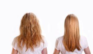 Волосы перестали виться
